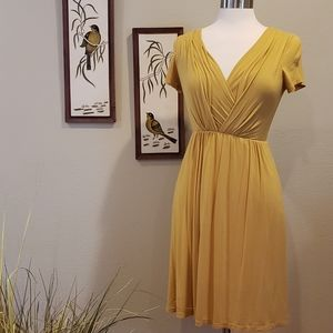 MODCLOTH GILLI Yellow Dress Size Small